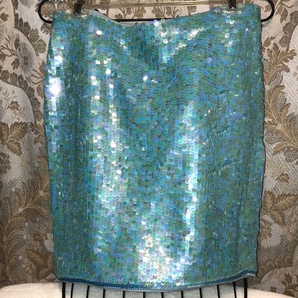 cathy hardwick Dresses & Skirts - Vintage Cathy Hardwick sequins Skirt